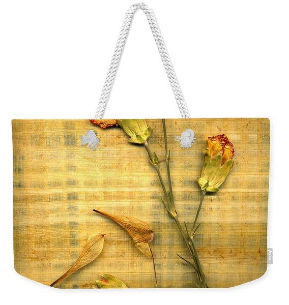 Papyrus2 Weekender Tote Bag