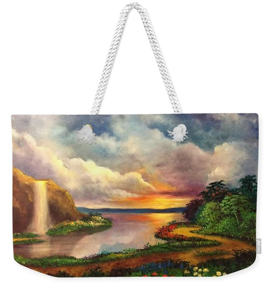 Paradise And Beyond Weekender Tote Bag