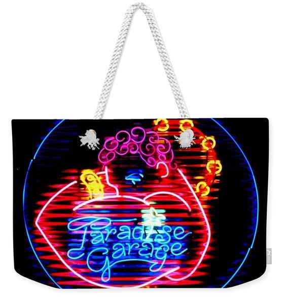 Paradise Garage Weekender Tote Bag