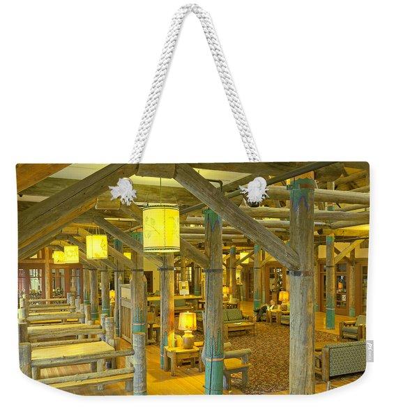 Paradise Inn Lobby Weekender Tote Bag