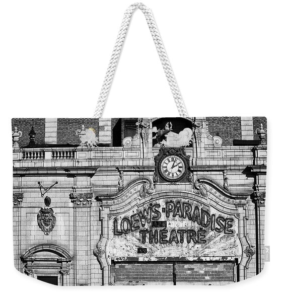 Paradise Movie Theatre Weekender Tote Bag