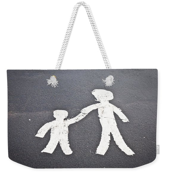 Parent And Child Marking Weekender Tote Bag