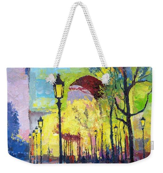 Paris Arc De Triomphie  Weekender Tote Bag