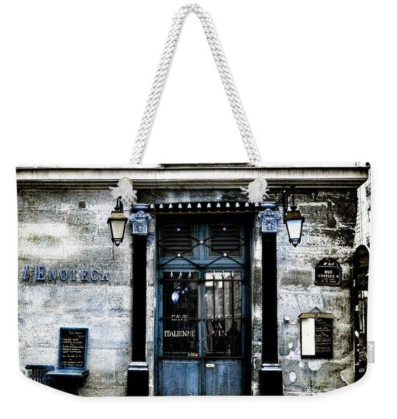 Paris Blues Weekender Tote Bag