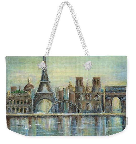 Paris Highlights Weekender Tote Bag