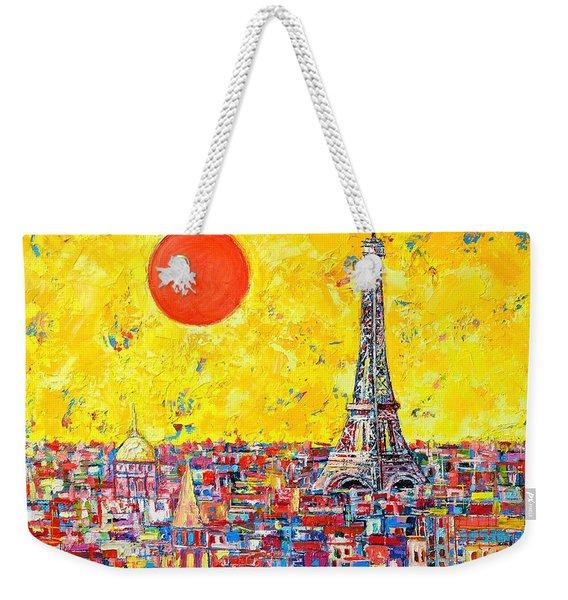 Paris In Sunlight Weekender Tote Bag