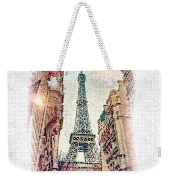 Paris Mon Amour Weekender Tote Bag
