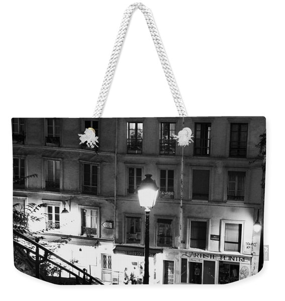 Paris-steps-montmartre Weekender Tote Bag