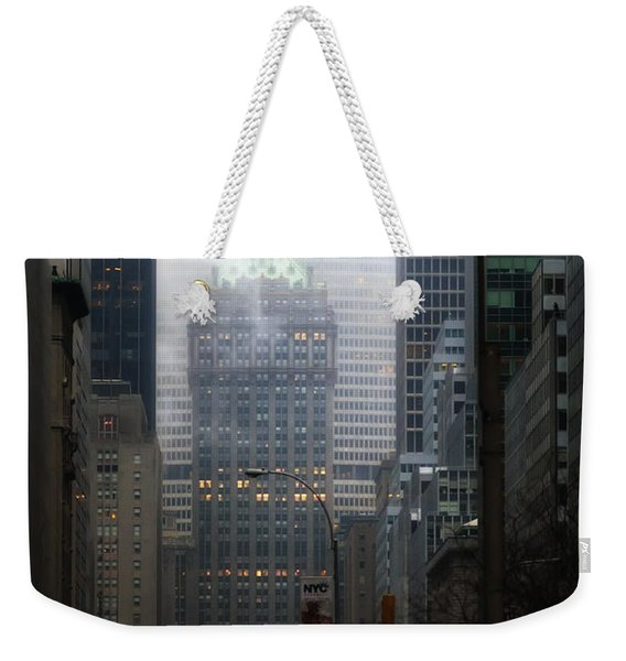 Park Avenue Dawn In Color Weekender Tote Bag