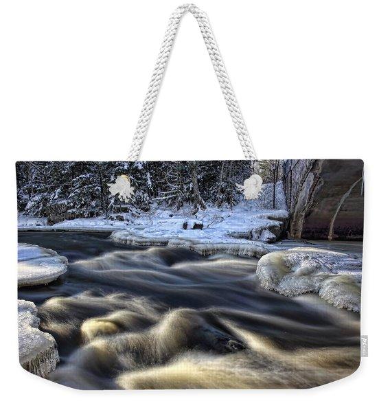 Eau Claire Dells Park Weekender Tote Bag