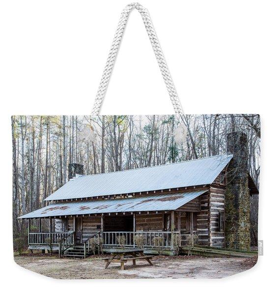 Park Ranger Cabin Weekender Tote Bag