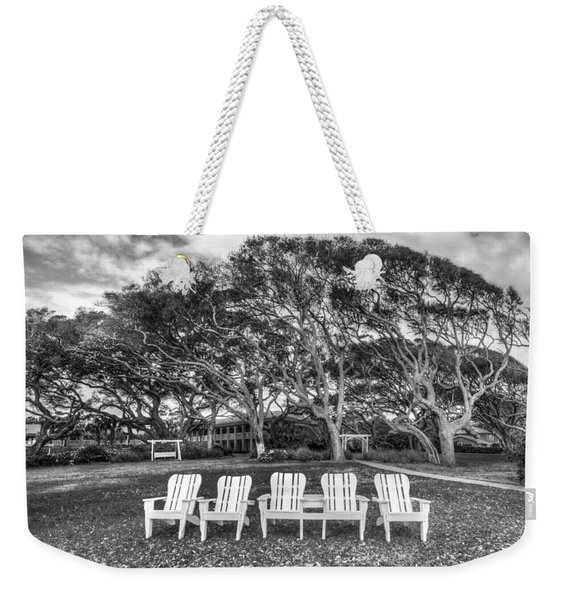 Park Under The Oaks Weekender Tote Bag