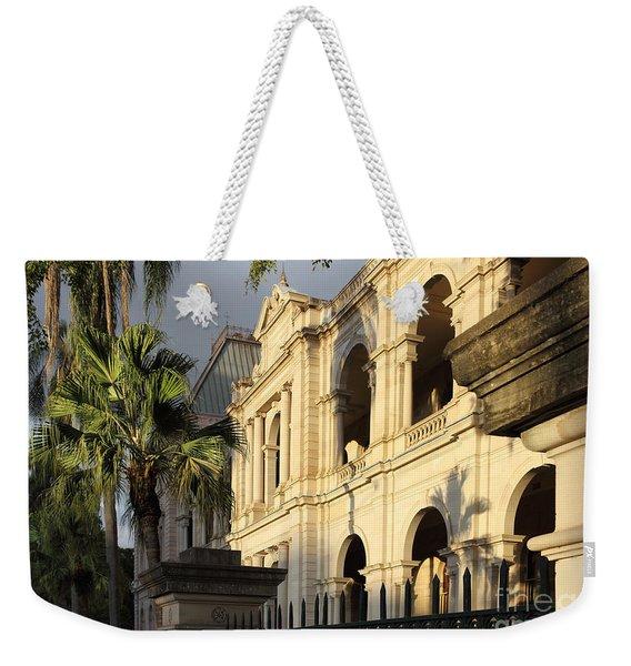 Parlament House In Brisbane Australia Weekender Tote Bag