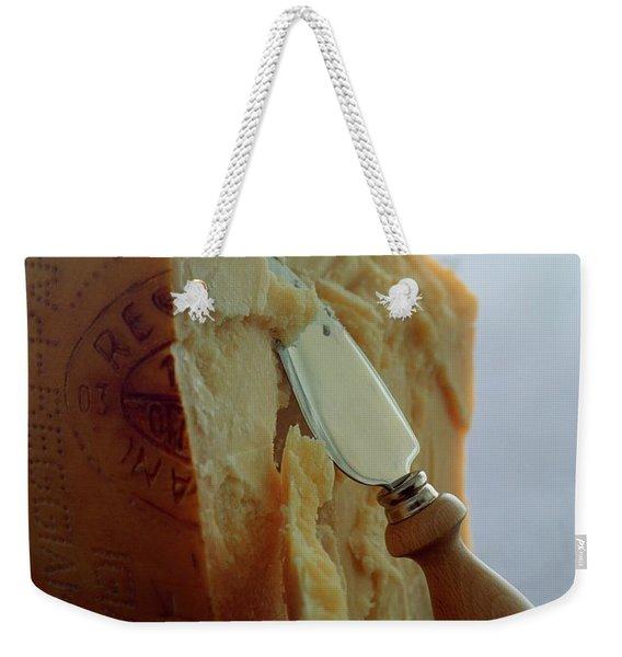 Parmigiano-reggiano Cheese Weekender Tote Bag