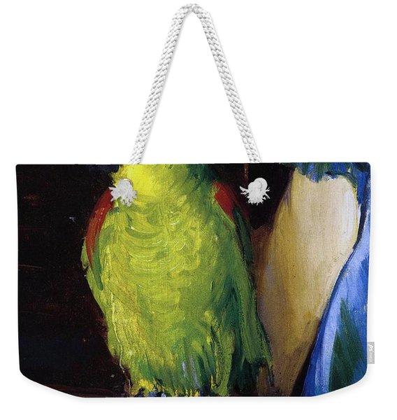 Parrot Weekender Tote Bag