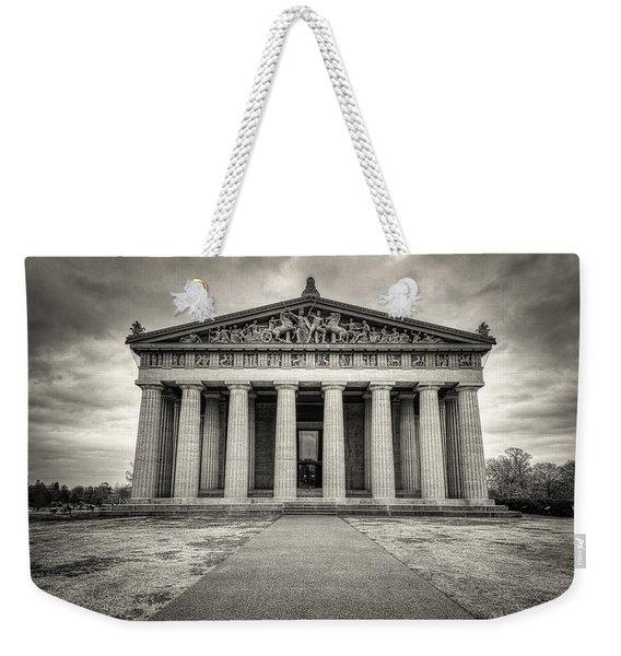Parthenon Weekender Tote Bag