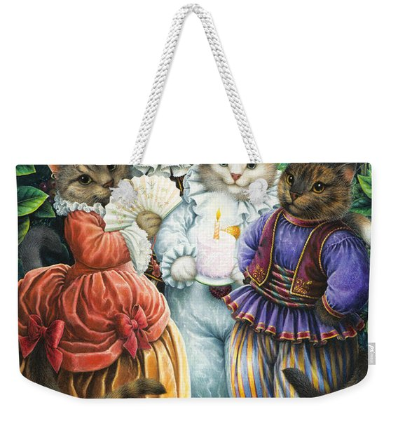 Party Cats Weekender Tote Bag