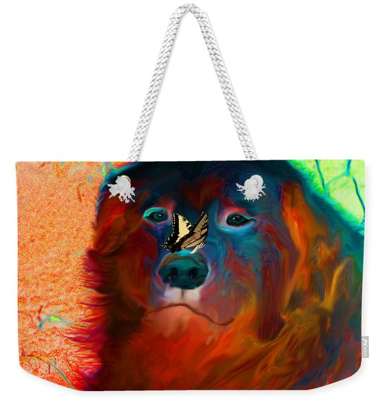 Party Pyrenees Weekender Tote Bag
