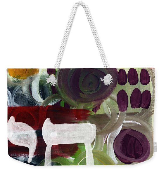 Passages- Abstract Painting Weekender Tote Bag