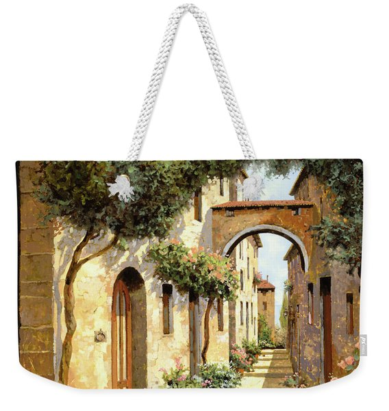 Passando Sotto L'arco Weekender Tote Bag