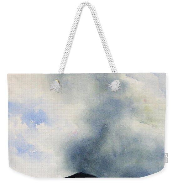 Passing Storm On Mt. Diablo Weekender Tote Bag