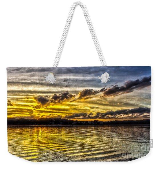 Passing Storm Two. Weekender Tote Bag
