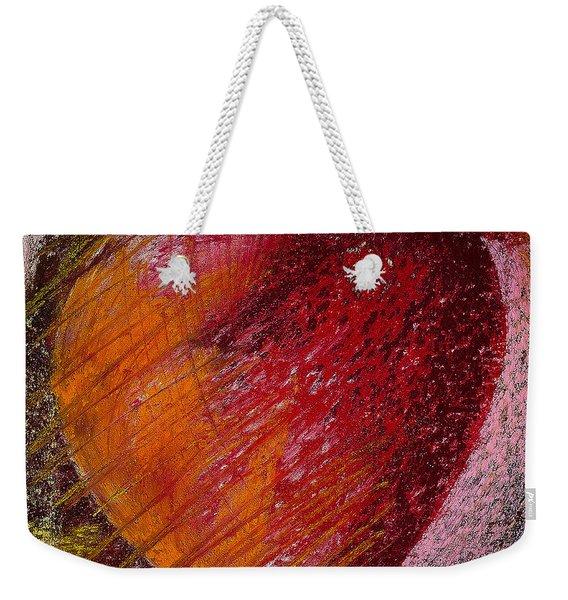 Passion Heart Weekender Tote Bag