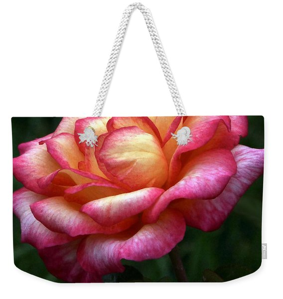 Passionate Shades Of A Perfect Rose Weekender Tote Bag