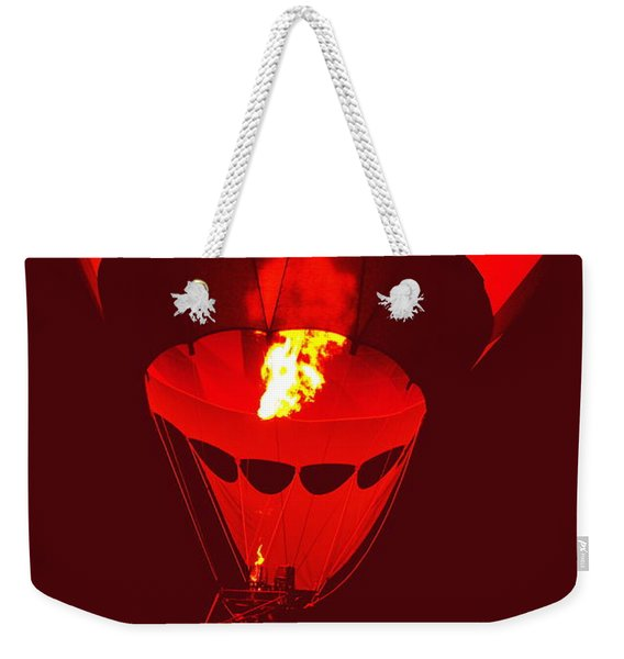 Passion's Flame Weekender Tote Bag