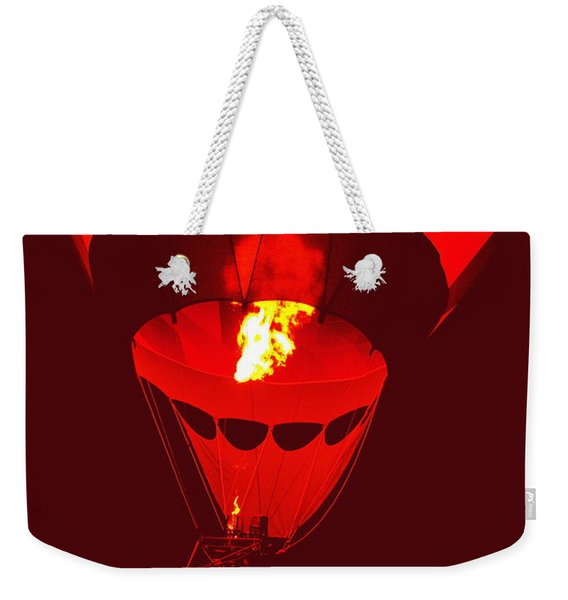 Passion's Flame Weekender Tote Bag