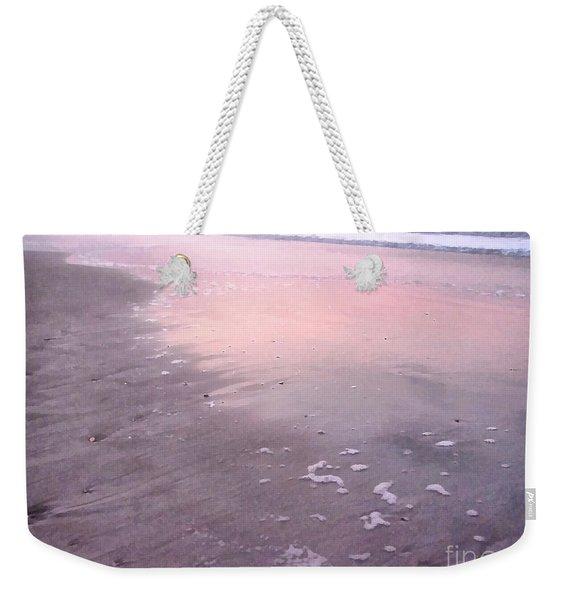 Pastel Beach Weekender Tote Bag