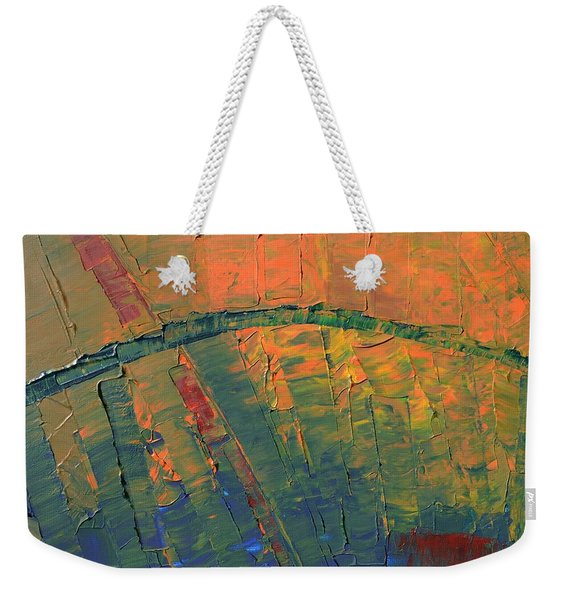 Patches Of Red Weekender Tote Bag