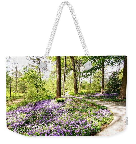 Path Of Serenity Weekender Tote Bag