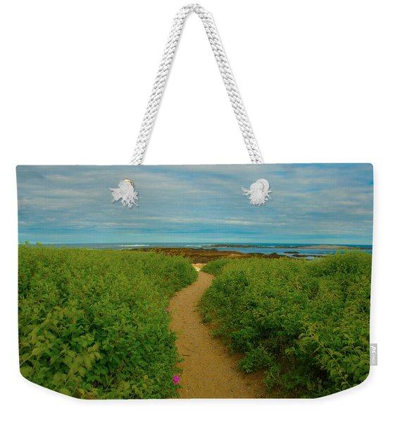 Path To Blue Weekender Tote Bag