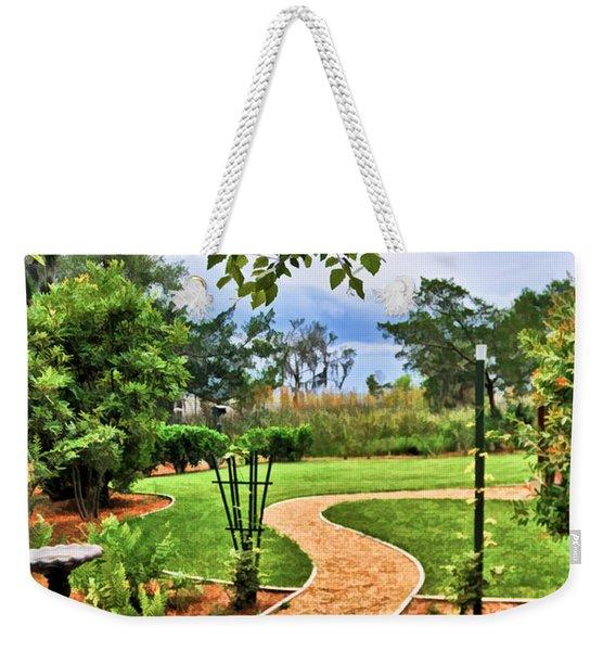 Garden Path To Wild Marsh Weekender Tote Bag
