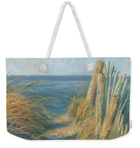 Path To The Beach Weekender Tote Bag
