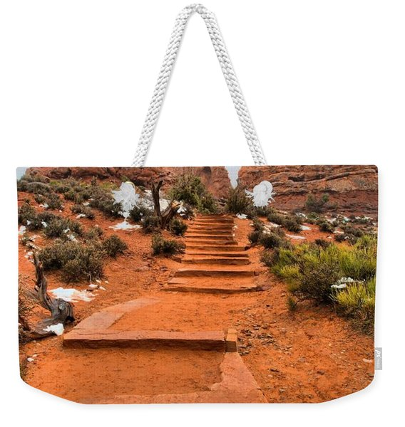 Pathway To Portals Weekender Tote Bag