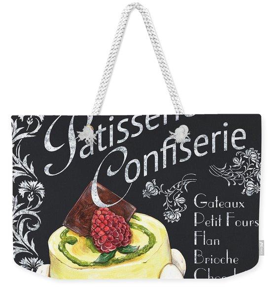 Patisserie And Confiserie Weekender Tote Bag