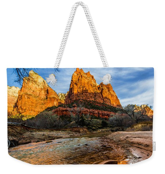 Patriarchs Of Zion Weekender Tote Bag