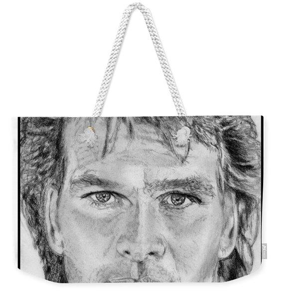 Patrick Swayze In 1989 Weekender Tote Bag