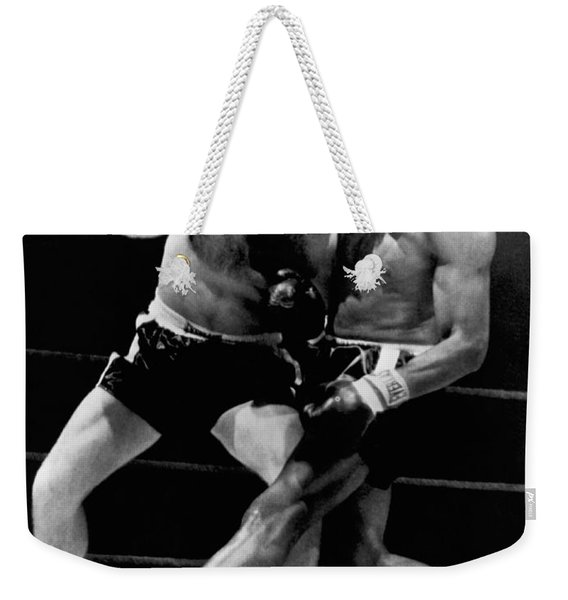 Patterson And Johansson Boxing Weekender Tote Bag