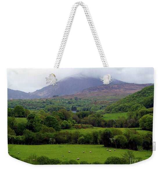 Peace On The Emerald Isle Weekender Tote Bag