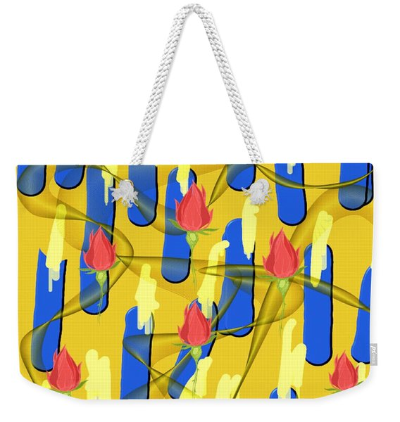 Peace Will Find A Way Weekender Tote Bag