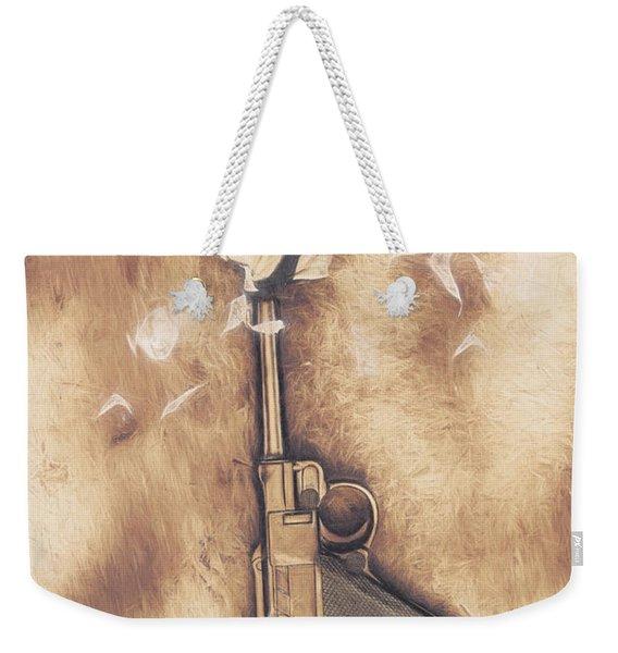 Peacefire Treaty Weekender Tote Bag