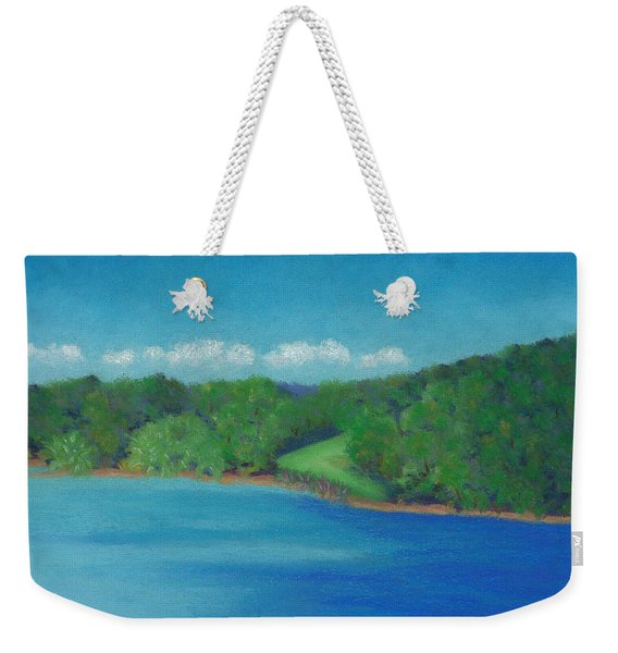 Peaceful Beginnings Weekender Tote Bag