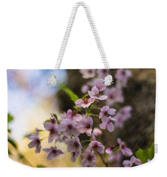 Peaceful Cherry Blossoms Weekender Tote Bag
