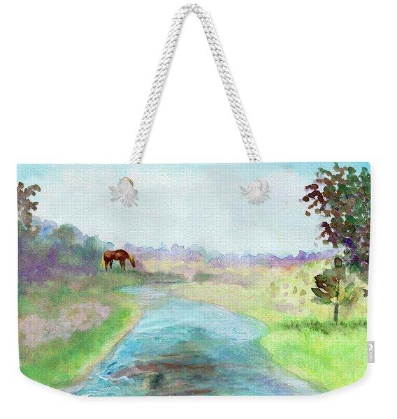 Peaceful Day Weekender Tote Bag