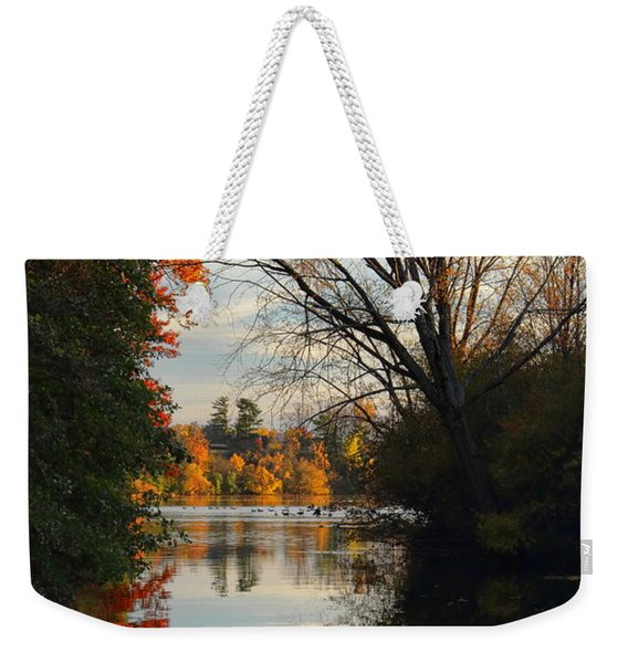 Peaceful October Afternoon Weekender Tote Bag