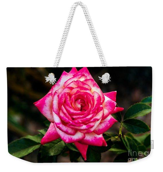 Peaceful Rose Weekender Tote Bag