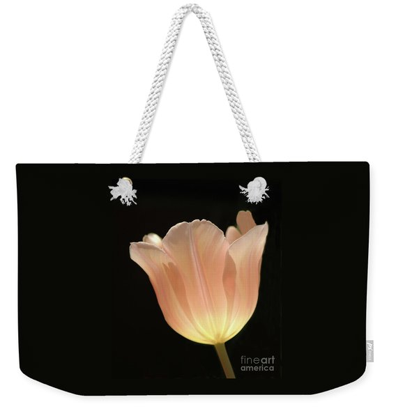 Peach Glow Weekender Tote Bag